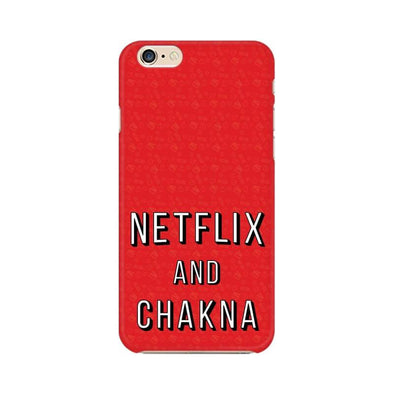 PHONE CASES Netflix And Chakna Phone Case FRYING PUN