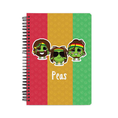 NOTEBOOKS Peas Notebook FRYING PUN