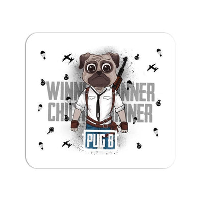 MOUSE PADS Pug B Mouse Pad