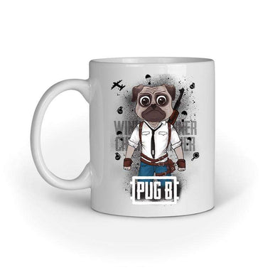 MUGS Pug B Mug FRYING PUN