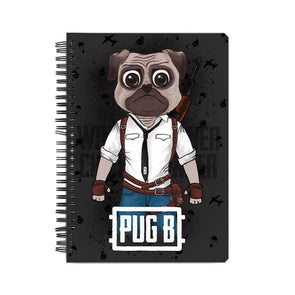 NOTEBOOKS Pug B Notebook FRYING PUN