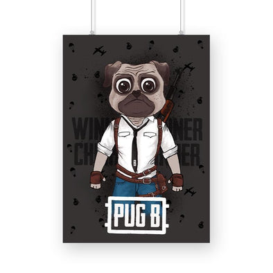 POSTERS A3 Pug B Poster