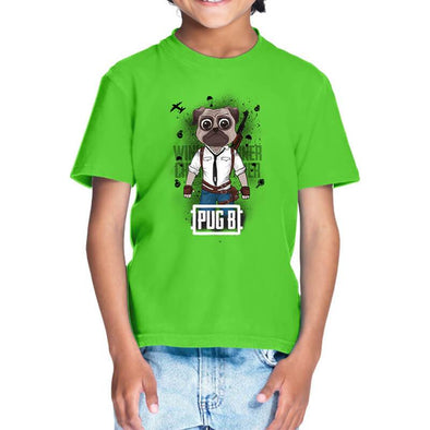 T-SHIRTS Pug B T-Shirt For Kids FRYING PUN