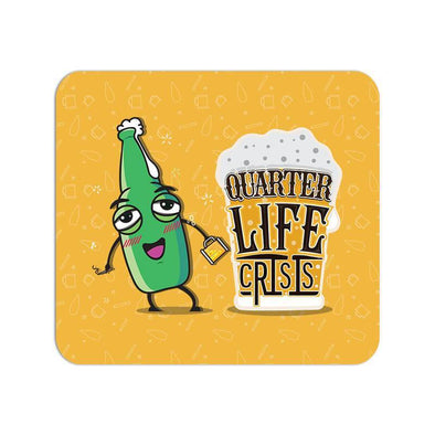 MOUSE PADS Quarter Life Crisis Mouse Pad FRYING PUN
