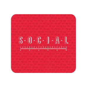MOUSE PADS Social Distancing Mouse Pad FRYING PUN