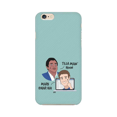 PHONE CASES Teja Main Hoon, Mark Idhar Hai Phone Case