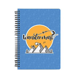 NOTEBOOKS Wandermust Notebook FRYING PUN