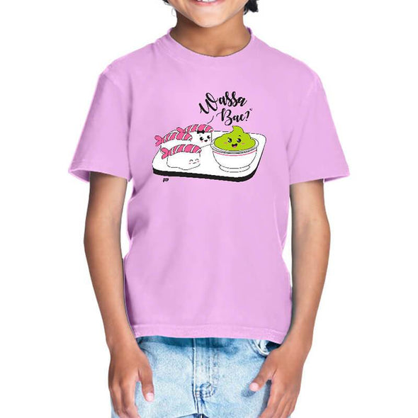 T-SHIRTS 1 / LIGHT PINK Wassa Bae T-Shirt For Kids FRYING PUN