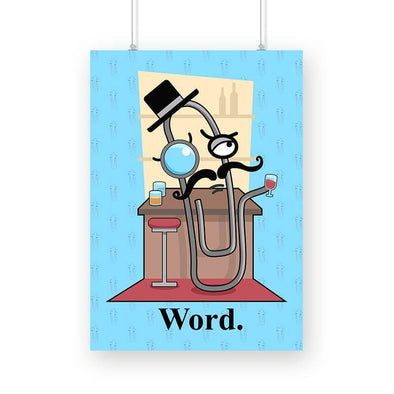POSTERS A3 Word Poster