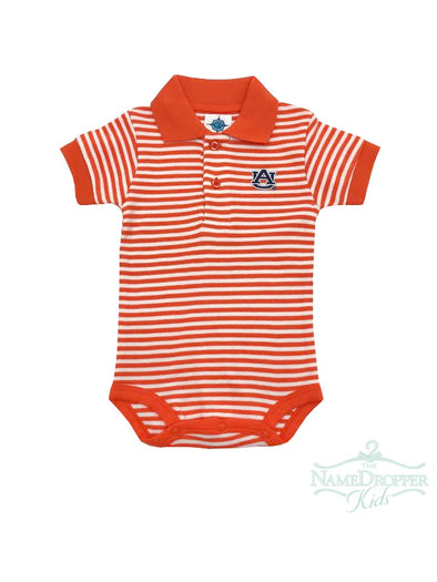 Creative Knitwear 461 Striped Polo Bodysuit