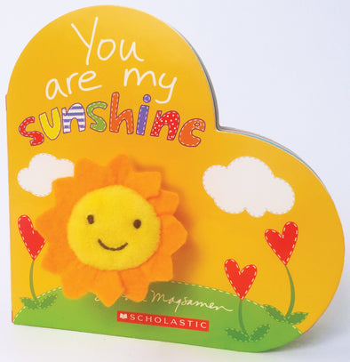 Scholastic You Are My Sunshine Finger-Puppet