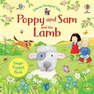 EDC Poppy and Sam and the Lamb Finger Puppet Book