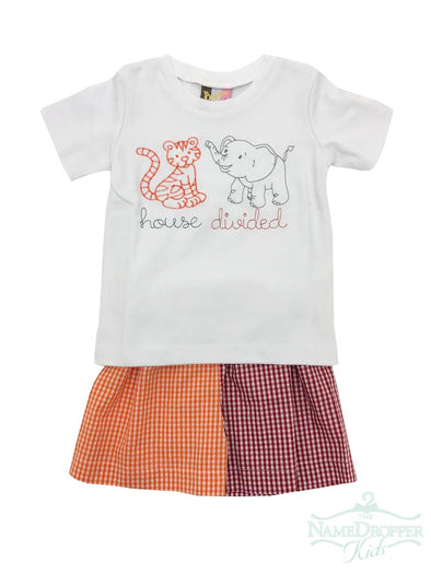 Banana Split House Divided Boys T-shirt & Shorts 333