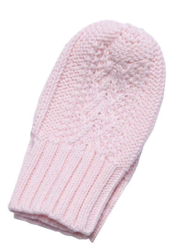 Angel Dear Cable Mittens One Size 43