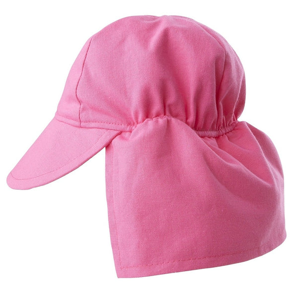 Flap Happy Candy Pink Flap Hat LFT1AZ