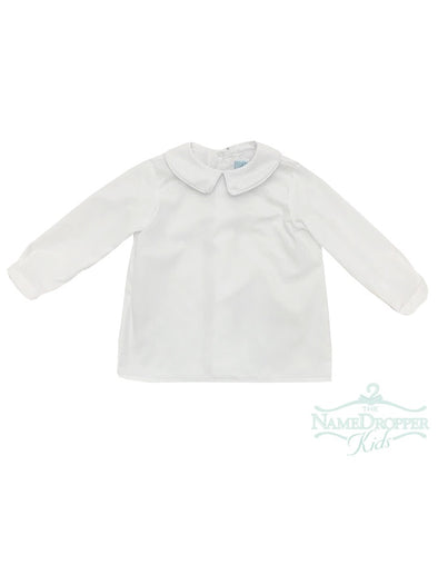 Funtasia Too Boys Long Sleeve Button Down White Shirt 45010