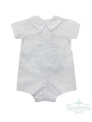 Auraluz White Cross Boysuit 5028