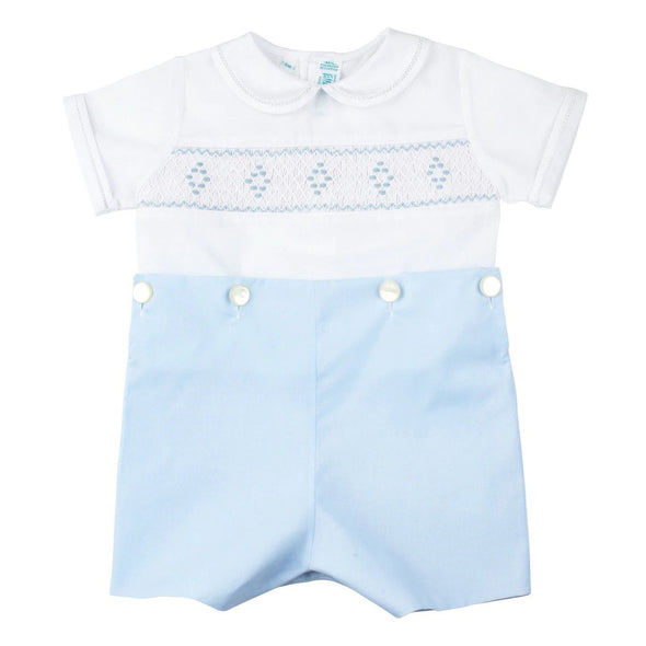 Feltman Brother Bobbie Suit White/Blue 97412