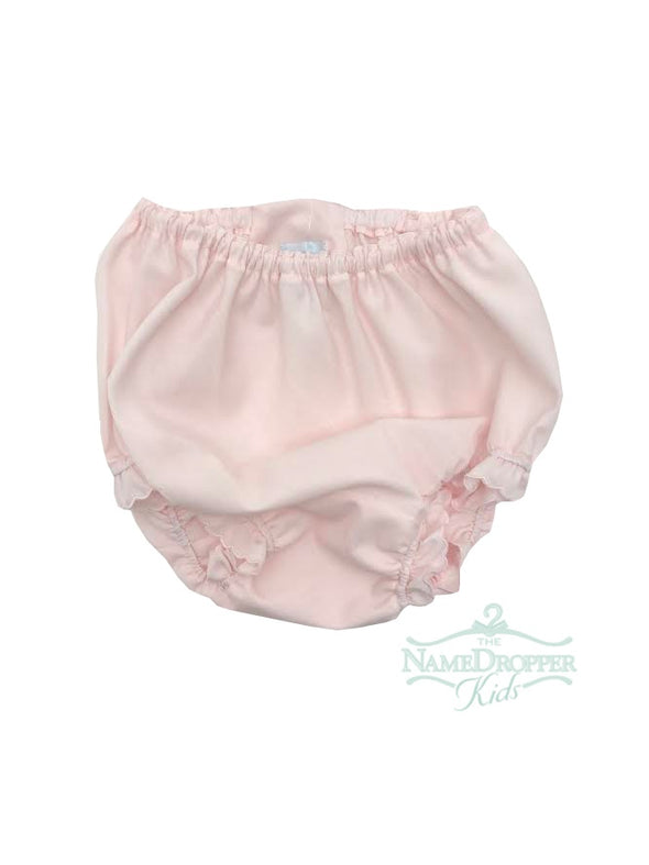 Auraluz Pink Panty (No Embroidery) w/ Scallop Trim