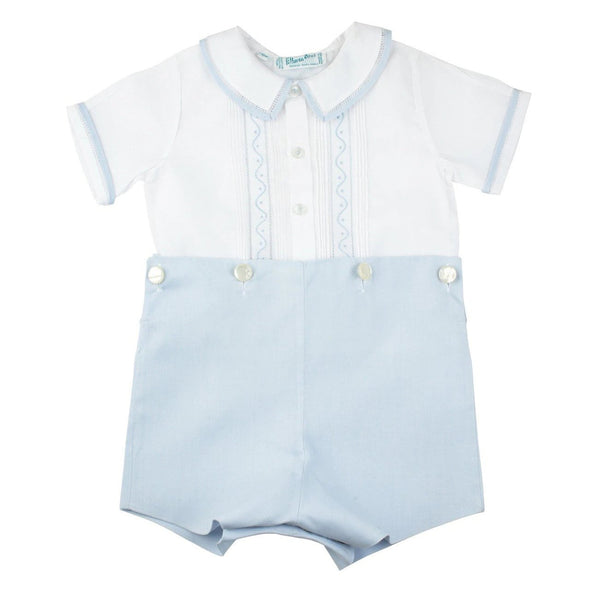 Feltman Brother Bobbie Suit White/Blue 97395F
