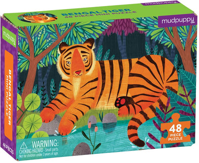Mudpuppy Bengal Tiger Mini Puzzle