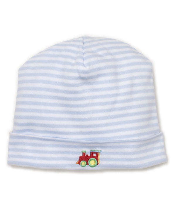 Kissy Kissy All Aboard Stripe Lt Blue Hat KB502698N-K480