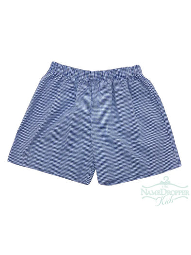 Vive La Fete Gingham Boys Pull on Shorts PS638