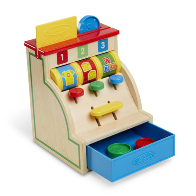 Melissa & Doug Spin and Swipe Cash Register