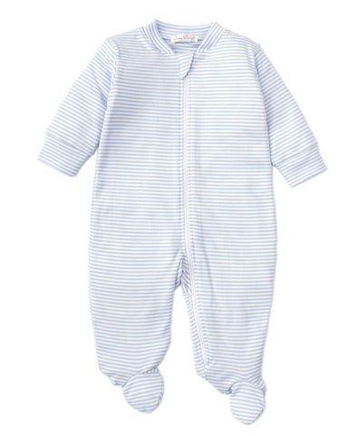 Kissy Kissy basic Stripes Footie W/Zip 44104BTZ