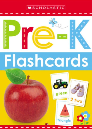 Scholastic Early Learners Flash Cards