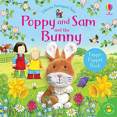 EDC Poppy and Sam and the Bunny Finger Puppet Book