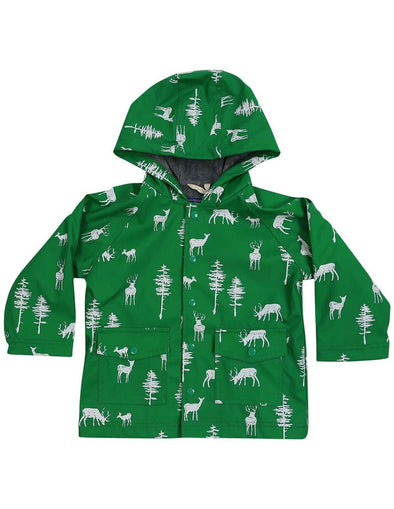 Korango Rainwear  Little Stag Green  A1349G