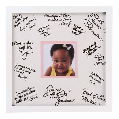 """Welcome Baby"" Signature Picture Frame"