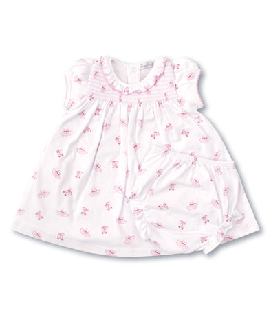 Kissy Kissy Pink Ballet Slippers Dress Set KGU04515I