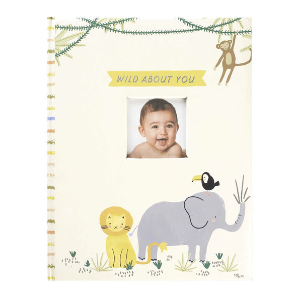 C.R. Wild About You Baby Memory Book