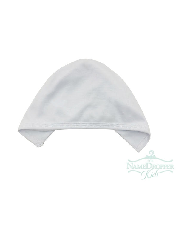 Auraluz Double Knit Baby Hat White 6148