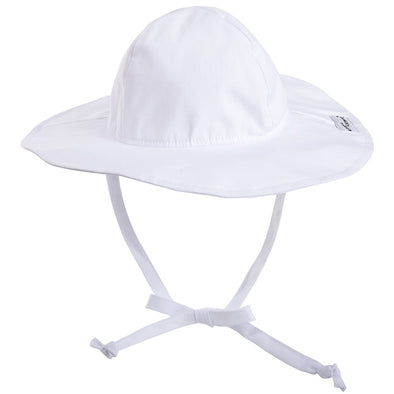 Flap Happy Floppy Hat White FLL1AZ