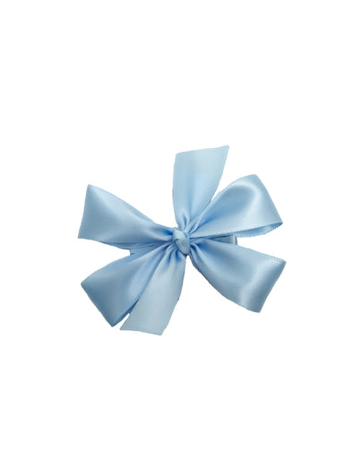 Carolyn Small Satin Bow (Multiply Colors)