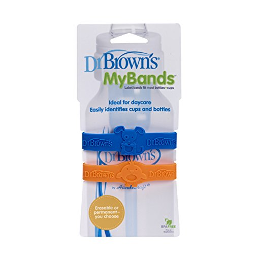 Dr. Brown's Assorted Color My bands (2 pk)
