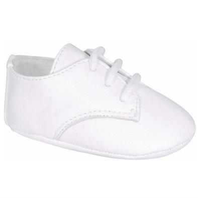 Baby Deer Austin Infant White Lambskin Oxfords 4107DTB