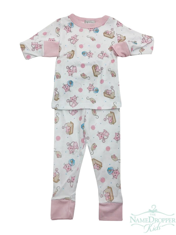 Magnolia Baby Pretty Kitty Long Pajamas 769-LP