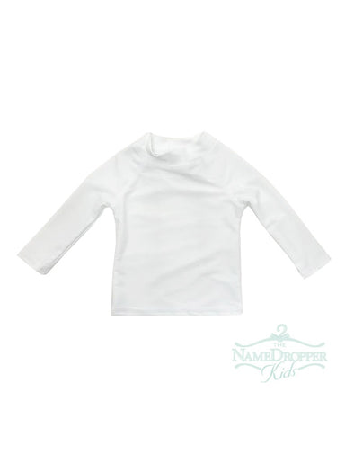 Flap Happy White Rash Guard RLK