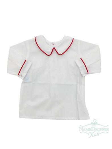 Remember Nguyen Red Boy Long Piped Shirt XPSHT-R