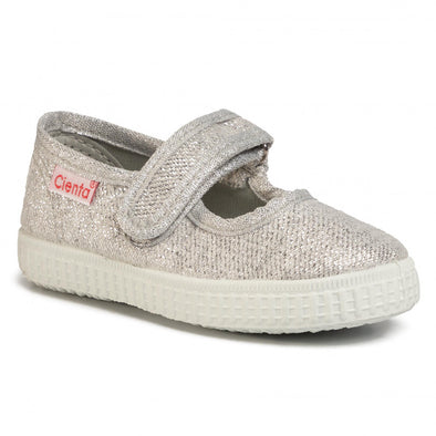 Cienta Mary Janes(Plata color on SALE)