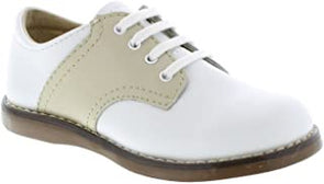Footmates Cheer White/Ecru