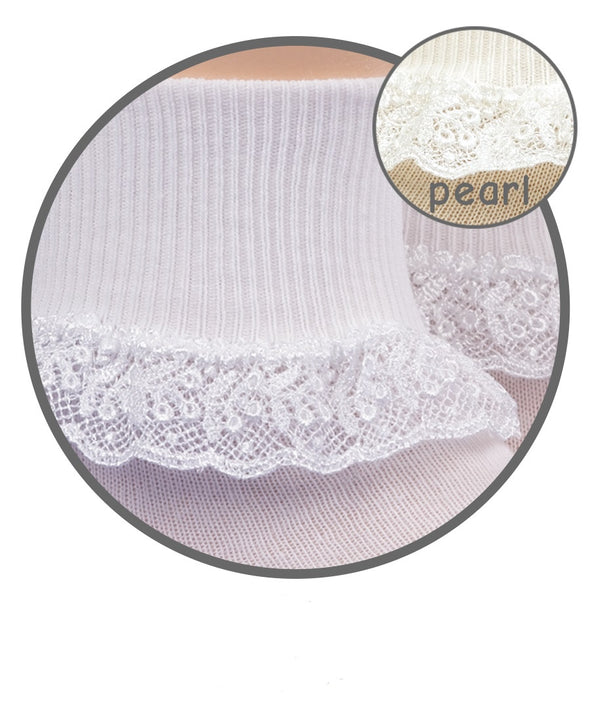 Jefferies Chantilly Lace Socks 1 Pair 2107