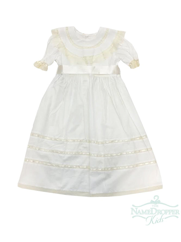 Lullaby Set Marilyn Dress White/Ecru  V-703EA.O