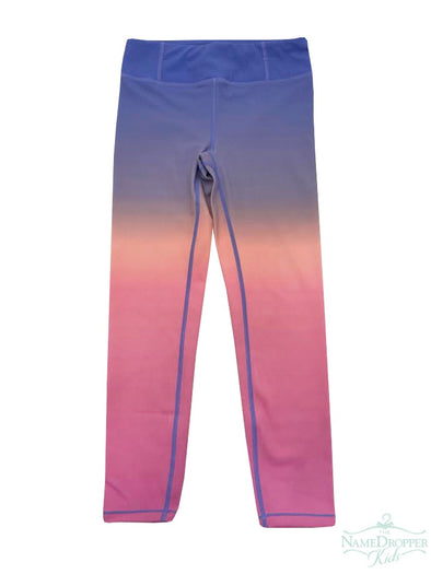 Candy Pink Ombre Legging Lilac/Pink W20603