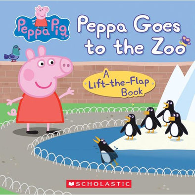 Scholastic Peppa goes to the Zoo LTF