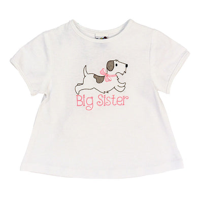 Bailey Boys Big Sister Shirt White Knit 200-BS